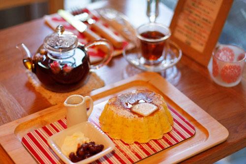 Rose Kitchen + Cafeのホットケーキ