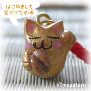 金ぴか招き猫