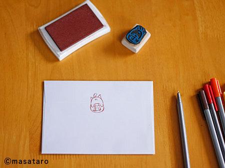 机の上のイメージ