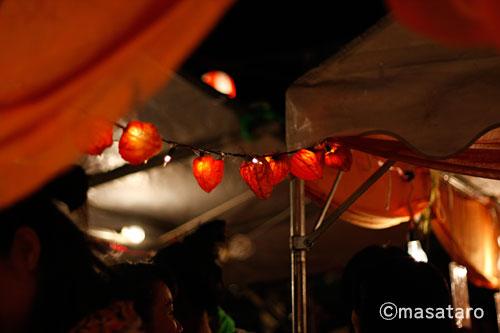 ほおずき千成り市2010の様子