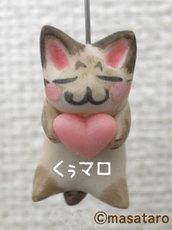 オーダー:愛猫模様の猫ストラップ01
