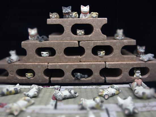 まったり猫とほっこり猫とー猫作品展ー
