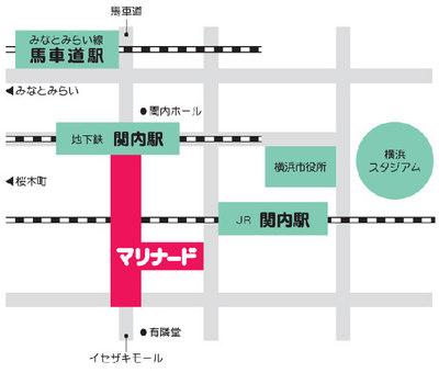 関内駅チカ アート市