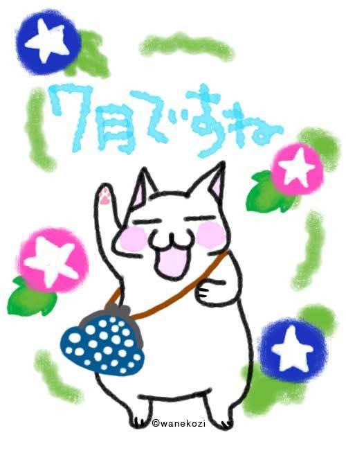 和猫路7月ですね☆