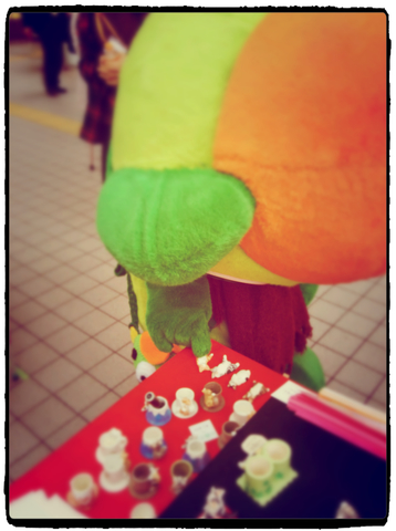 REACH大崎クラフトマーケットに登場した、大崎一番太郎さん!