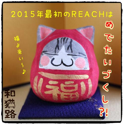 第12回REAC大崎クラフトマーケット:だるま猫