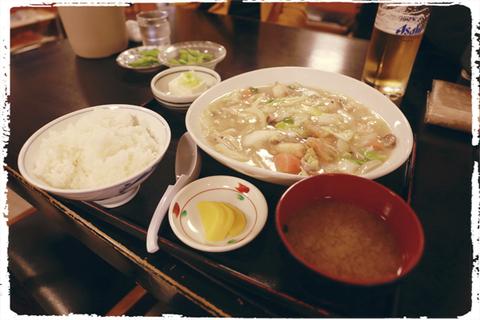 三松会館でご飯