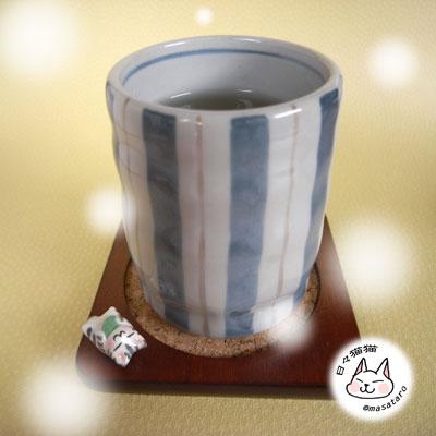 緑茶マロコースター